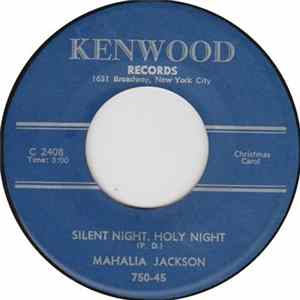 Download Mahalia Jackson - Silent Night, Holy Night / Lord's Prayer Album